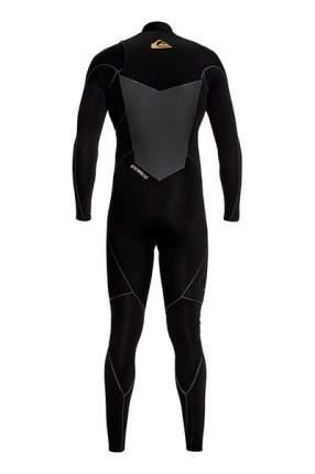 Мужской гидрокостюм с молнией на груди 3/2mm Highline Plus Quiksilver, темно-серый, L