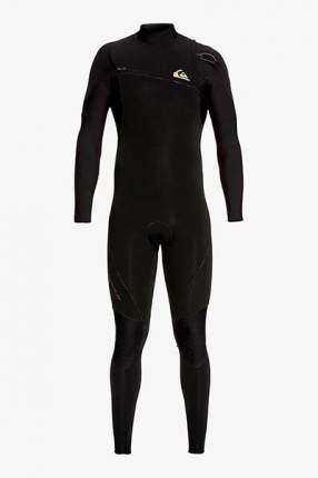 Мужской гидрокостюм без молнии 4/3mm Highline Lite Quiksilver, черный, S