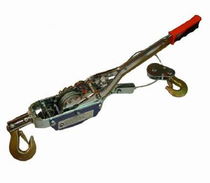 Лебедка 2,5тн угловая (трос) НР-123 D Skrab 26451