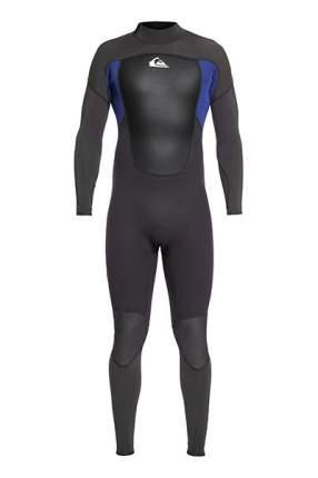 Мужской гидрокостюм с молнией на спине Quiksilver 3/2mm Prologue, черный, M