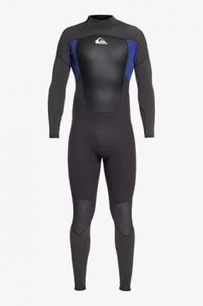 Гидрокостюм (Комбинезон) Quiksilver 543prologmenbz Jet Black/Nite Blue-80, черный, S