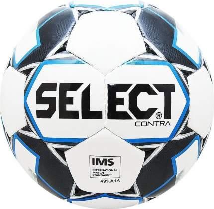 Футбольный мяч Select Contra №5 белый/синий/черный