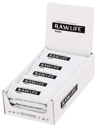 Орехово-фруктовый батончик R.A.W. LIFE «Кокос» (20 шт. в уп.)