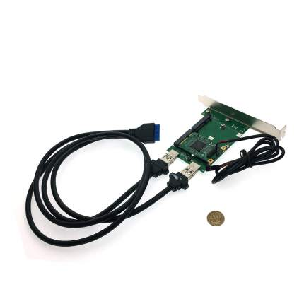 Переходник PCI-e Espada FG-MCV02A-1