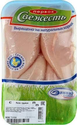 Филе грудки цб первая свежесть охл кг подложка вес элинар-бройлер россия