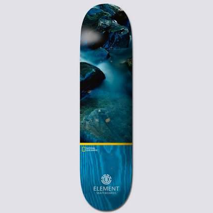 "Скейт доска Element NAT GEO WATER 8,25"" ASSORTED, серый"