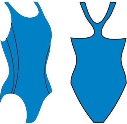 Купальник Atemi BW6 5, черно-голубой, 50 RU