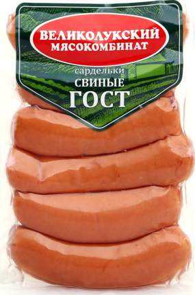 Сардельки свиные гост кг газ/ср вес великолукский мк россия 550 г