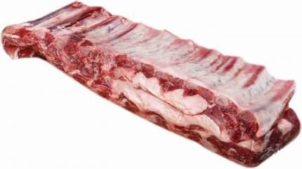 Ребрышки свиные мираторг деликатесные охл кг вес ск короча россия