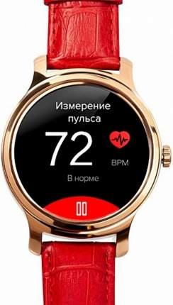 Смарт-часы GSMIN WP5 Red leather