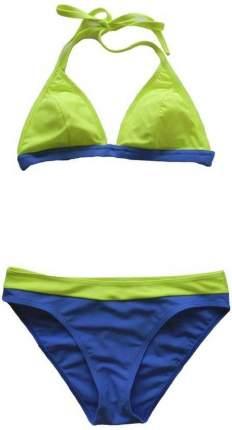 Купальник Atemi LW11-L, желтый/синий, 48 RU