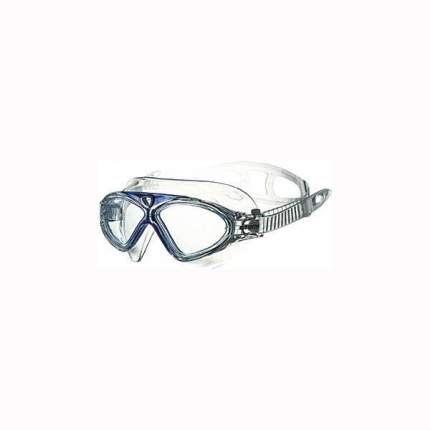 Очки-полумаска для плавания Atemi Z301 голубые