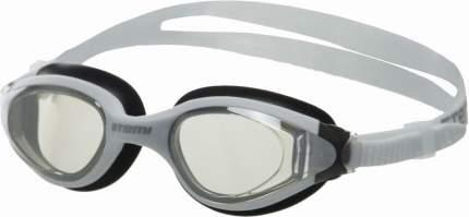 Очки для плавания Atemi, силикон (бел/чёрн), N9303M