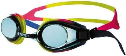 Очки для плавания Atemi, силикон (син/роз/желт), M105
