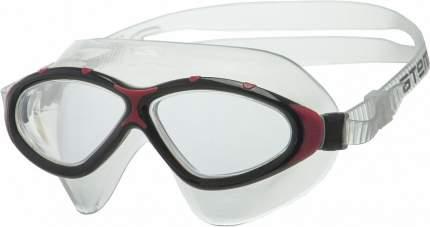 Очки-полумаска для плавания Atemi, силикон (чёрн/красн), Z402