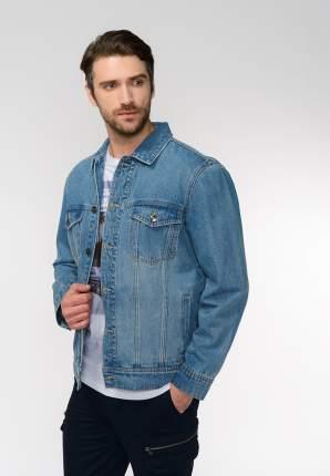 Джинсовая куртка мужская Modis M201D00252 голубая 50 RU
