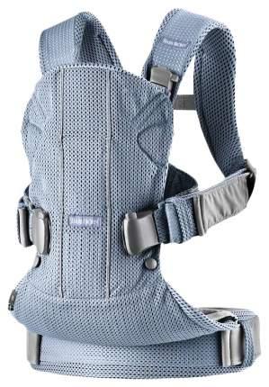 Рюкзак Baby Bjorn One Air 3D серо-голубой 0980.20