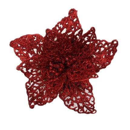 Цветок пуансеттии (B Красный)