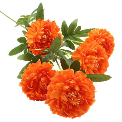 HY125-21030 Хризантемы, 59см (B Оранжевый)