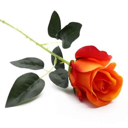 HY125-81011 Роза, 55см (F Оранжевый)