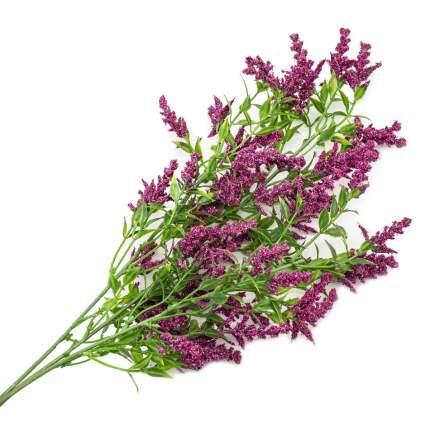 HY125-81015 Ветка декоративная с цветочками, 69см (F Лавандовый)