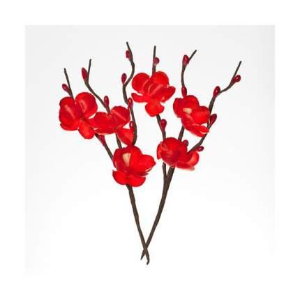 Искусственные цветы ScrapBerry's SCB280706 красные