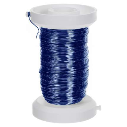 Проволока, толщ.0,25мм,40м,синий Glorex