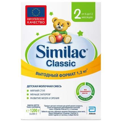 Детская молочная смесь Similac Classic 2 с 6 до 12 месяцев - 1200 г 20033437