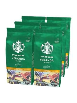 STARBUCKS Blonde Veranda кофе молотый 6 штук по 200г