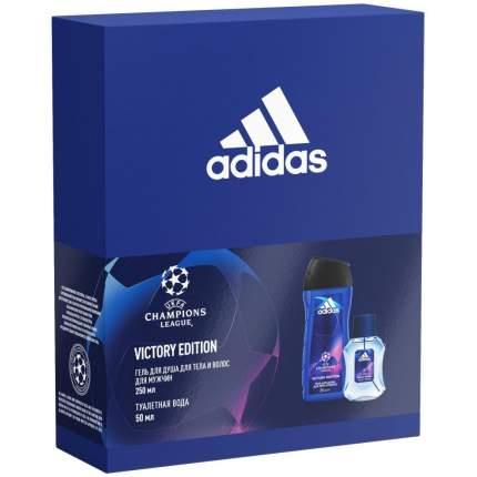 Подарочный набор Adidas Victory Edition туалетная вода 50мл + гель для душа 2в1 250мл