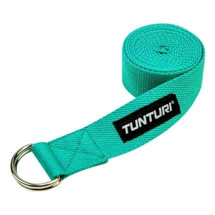 Ремни для йоги Tunturi, бирюзовый