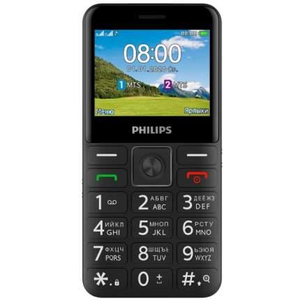 Мобильный телефон Philips Xenium E207 Black
