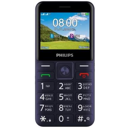 Мобильный телефон Philips Xenium E207 Blue