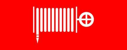 """Пиктограмма """"Пожарный гидрант"""" 240х95мм (для SAFEWAY-10) EKF"""