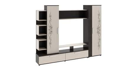 Набор мебели для общей комнаты Дакота ТриЯ Венге Цаво/Дуб молочный с рисунком