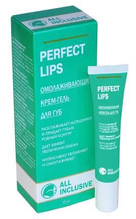 Крем-Гель All Inclusive Perfect Lips Омолаживающий для Губ, 15 мл