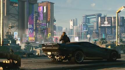 Игра Cyberpunk 2077 для PlayStation 4 (Нет пленки на коробке)