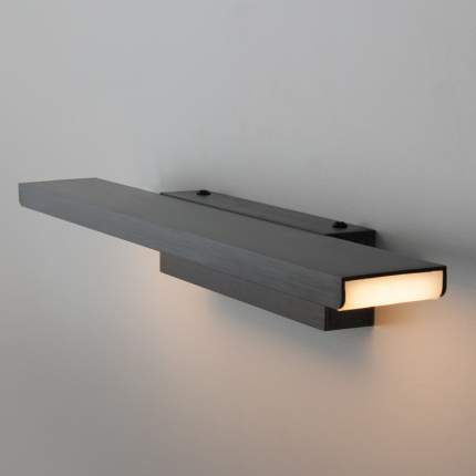 Светодиодная подсветка Sankara LED черная (MRL LED 16W 1009 IP20) ЕВРОСВЕТ