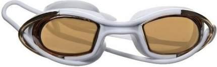 Очки для плавания Atemi N9101M белые/оранжевые