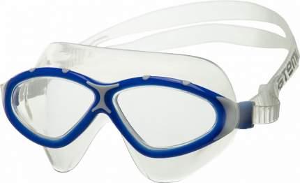 Очки-полумаска для плавания Atemi Z401 синие/серые