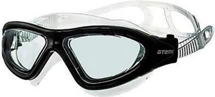 Очки-полумаска для плавания Atemi, силикон (черн), Z101