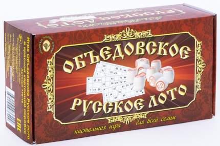 Объедовское Русское лото в краснойкартонной коробке
