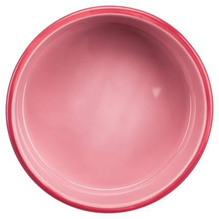 Миска для животных TRIXIE, керамическая, розовая, 16см, 800мл