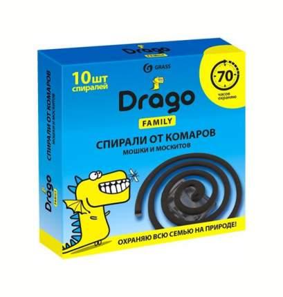 Grass drago спираль от комаров эффект (10шт)