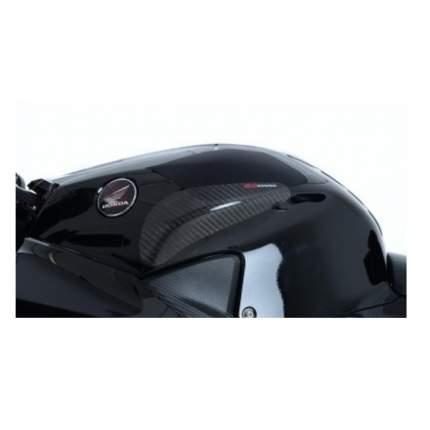 Наклейки карбоновые боковые R&G на бак для Honda CBR600RR 2013- (TS0018C)
