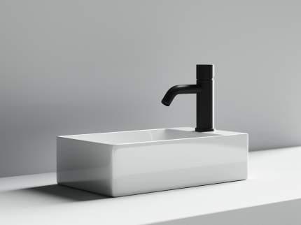 Раковина накладная Ceramica Nova Element прямоугольная отверстие справа 37 см CN5007