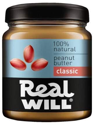Real Will Peanut butter классическая 500 г
