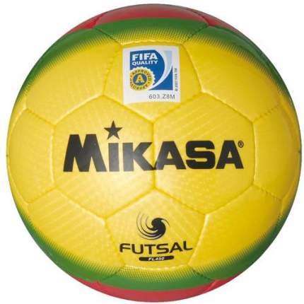 Футбольный мяч Mikasa FL450 №4 yellow/green/red