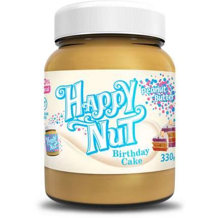 """Арахисовая паста HAPPY NUT """"Праздничный торт"""" 330 г"""