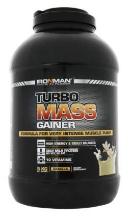 Гейнер Ironman Turbo Mass Gainer, 5000 г, chocolate